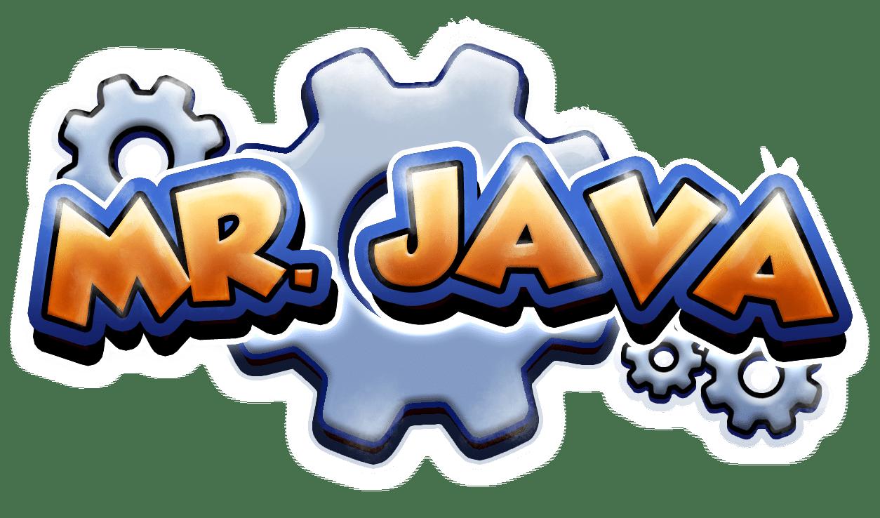 Logo de Mr Java.
