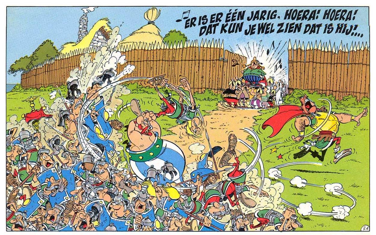 Illustration du célèbre Albert Uderzo.
